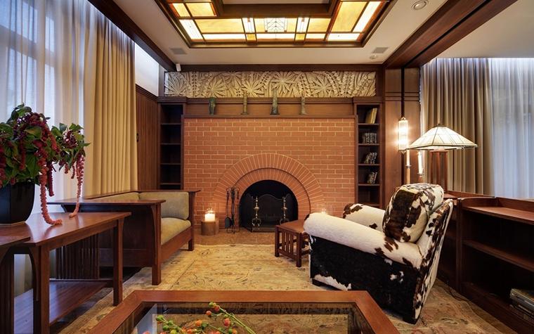 интерьер гостиной - фото № 7351