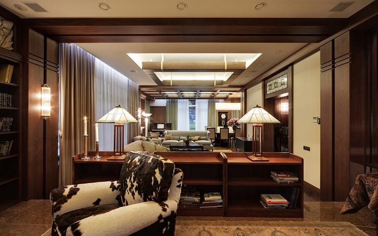 интерьер гостиной - фото № 7352