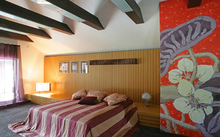 Фото № 7677 спальня  Загородный дом