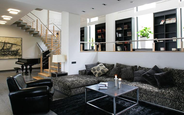 интерьер гостиной - фото № 7676