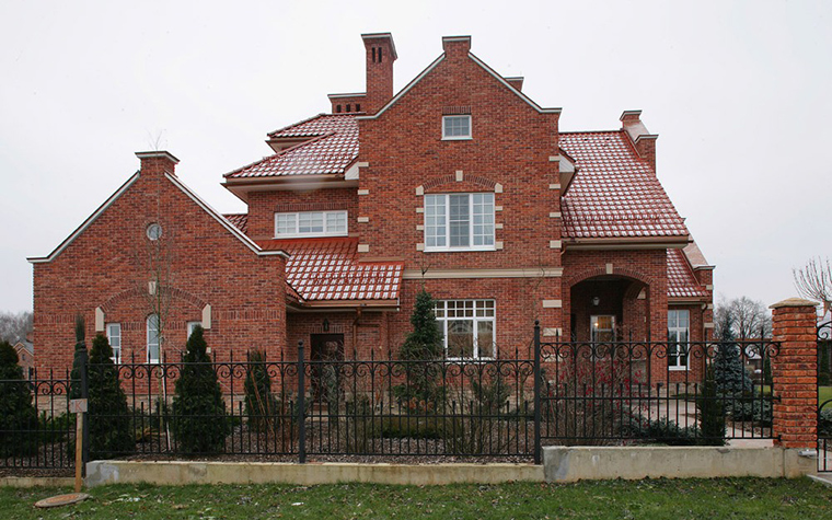 Загородный дом. фасад из проекта , фото №7696