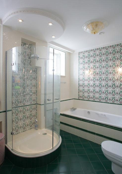 Фото № 7720 ванная  Загородный дом