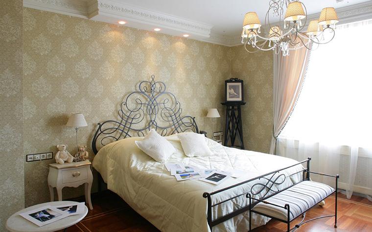 Фото № 7710 спальня  Загородный дом
