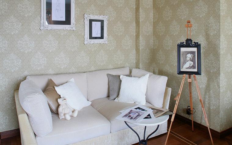 Фото № 7711 спальня  Загородный дом