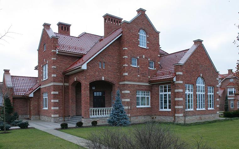 Загородный дом. фасад из проекта , фото №7698