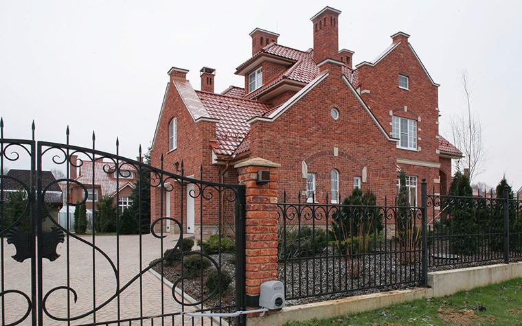 Загородный дом. фасад из проекта , фото №7697