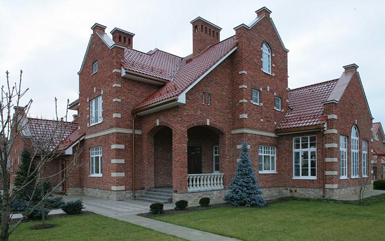 Загородный дом. фасад из проекта , фото №7699