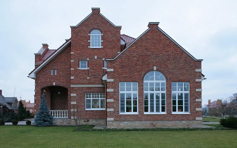 Загородный дом. фасад из проекта , фото №7700