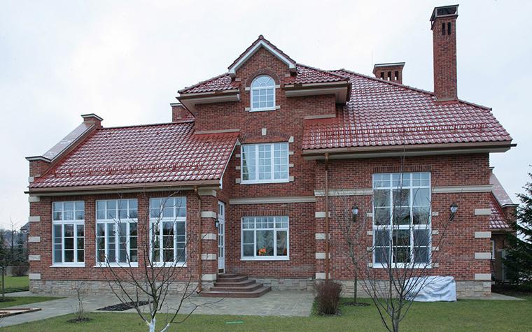 Загородный дом. фасад из проекта , фото №7702