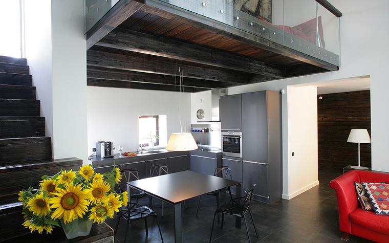 Загородный дом. кухня из проекта , фото №7728