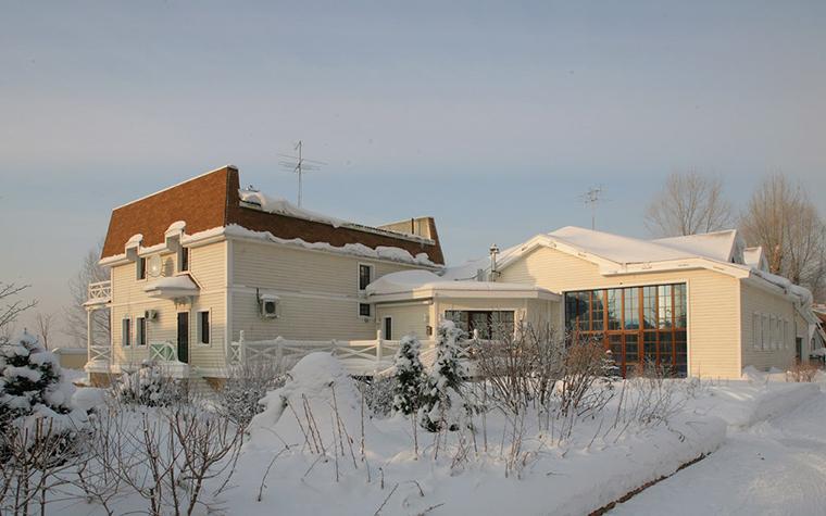 Загородный дом. фасад из проекта , фото №7773