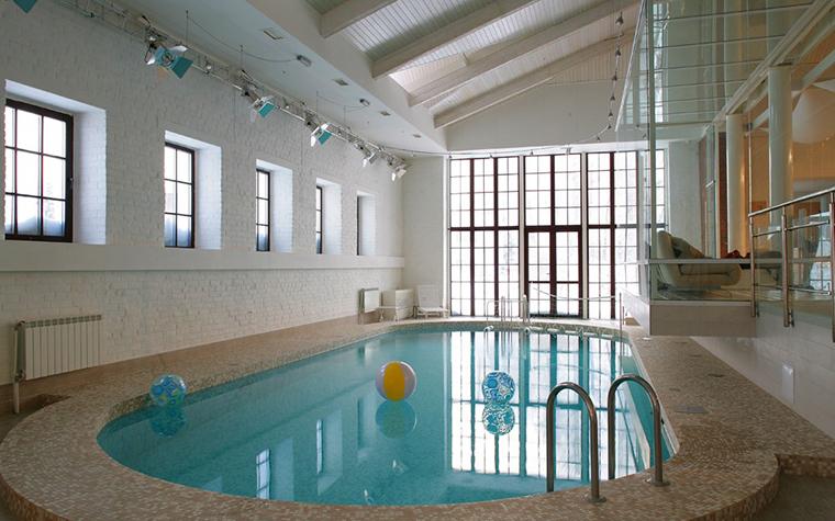 интерьер бассейна - фото № 7770