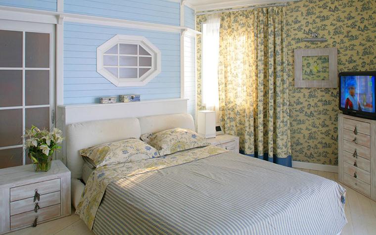 Загородный дом. спальня из проекта , фото №7763
