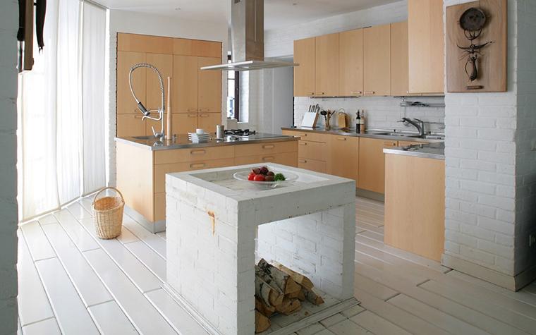 Загородный дом. кухня из проекта , фото №7767