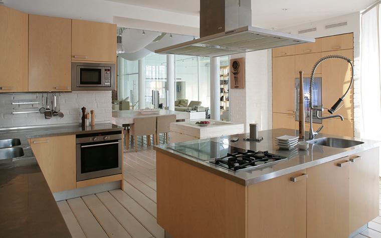 Загородный дом. кухня из проекта , фото №7768