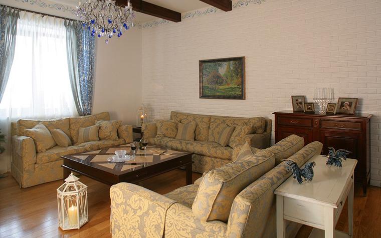 интерьер гостиной - фото № 7782