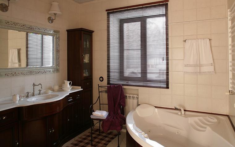 Загородный дом. ванная из проекта , фото №7776