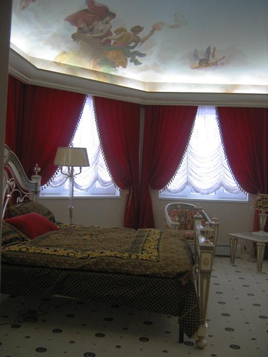 интерьер спальни - фото № 7851