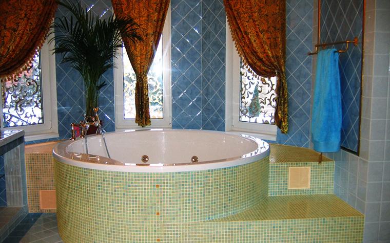 Фото № 7854 ванная  Загородный дом
