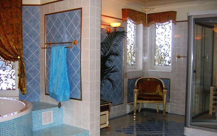 Фото № 7855 ванная  Загородный дом