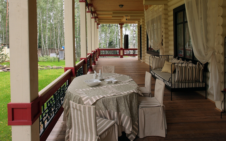 Загородный дом. терраса  из проекта , фото №8173