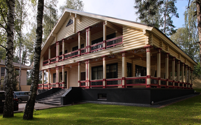 Загородный дом. фасад из проекта , фото №8172