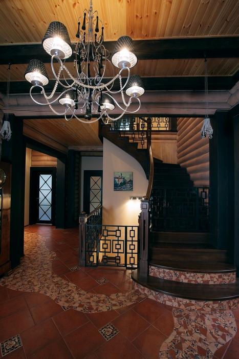Загородный дом. холл из проекта , фото №8178