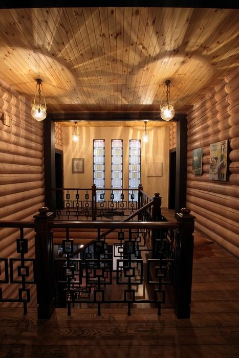 Загородный дом. холл из проекта , фото №8179
