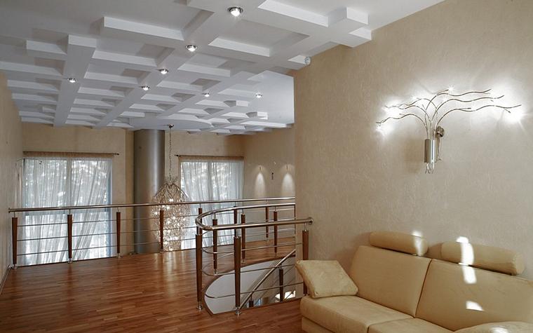 Загородный дом. холл из проекта , фото №8197