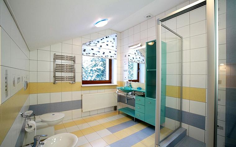 Загородный дом. ванная из проекта , фото №8189