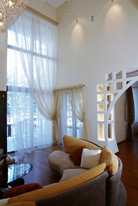 Загородный дом. гостиная из проекта , фото №8187