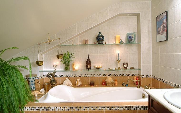 интерьер ванной - фото № 8312