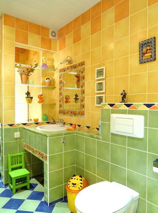 Загородный дом. ванная из проекта , фото №8315