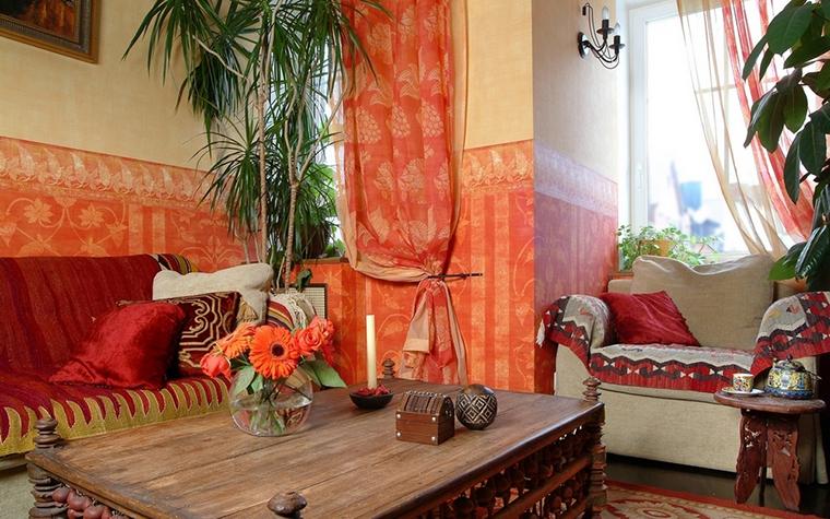 Загородный дом. гостиная из проекта , фото №8305