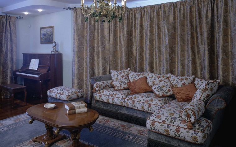 интерьер гостиной - фото № 8434