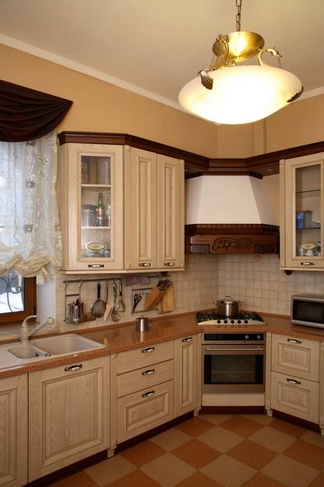 Фото № 8439 кухня  Загородный дом