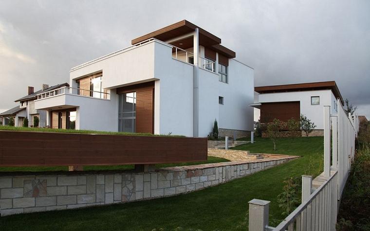 Загородный дом. фасад из проекта , фото №8617