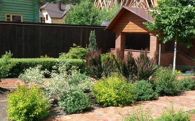 Загородный дом. дорожка из проекта , фото №8619