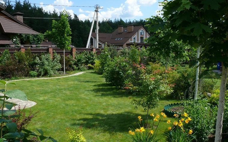 Загородный дом. участок из проекта , фото №8631
