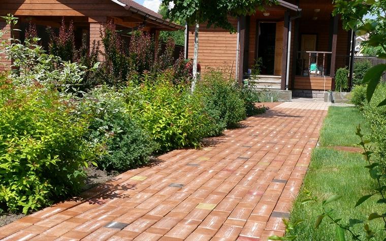 Загородный дом. дорожка из проекта , фото №8620