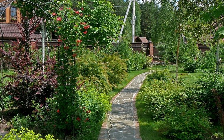 Загородный дом. дорожка из проекта , фото №8624