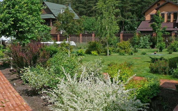 Загородный дом. участок из проекта , фото №8629