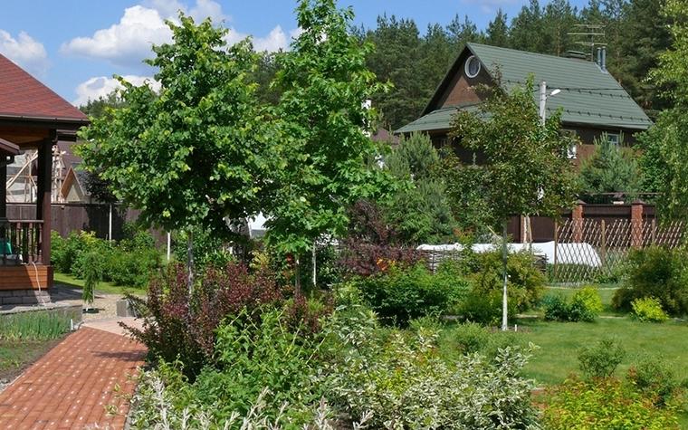 Загородный дом. дорожка из проекта , фото №8622