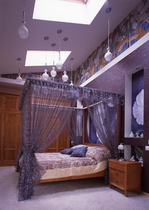 Загородный дом. спальня из проекта , фото №8701