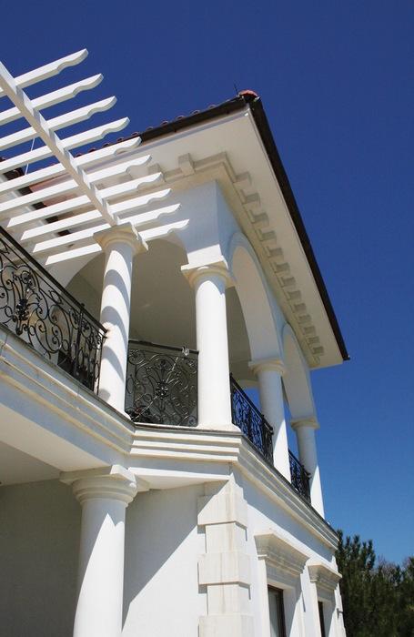Загородный дом. фасад из проекта , фото №8724