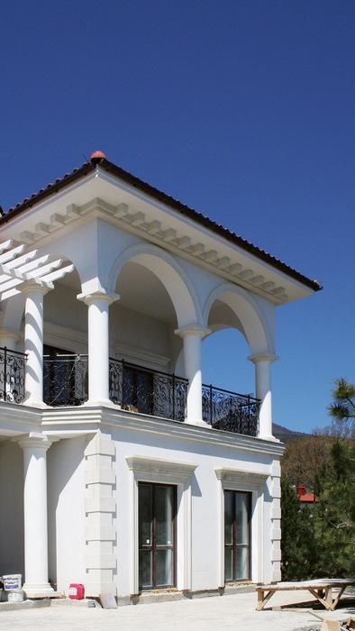 Загородный дом. фасад из проекта , фото №8725