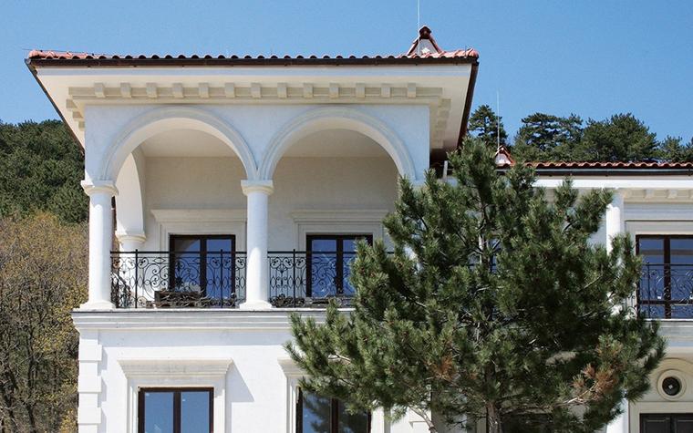 Загородный дом. фасад из проекта , фото №8726