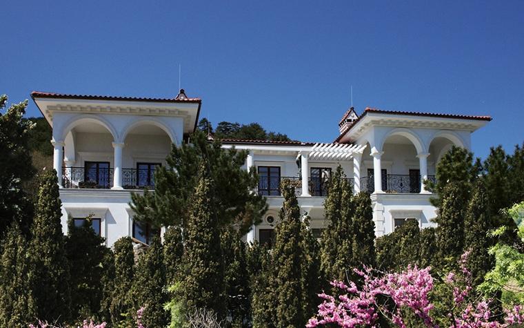 Загородный дом. фасад из проекта , фото №8743