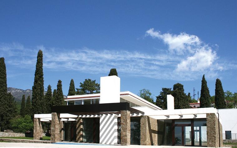 Загородный дом. фасад из проекта , фото №8730