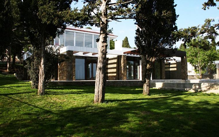 Загородный дом. фасад из проекта , фото №8732